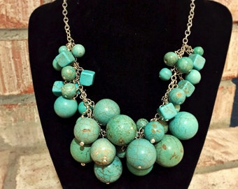 18inch turquoise necklace