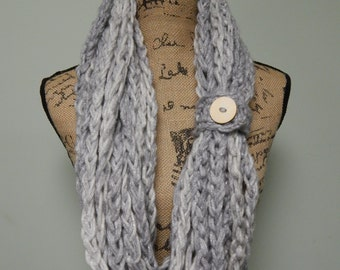 Infinity Scarf - Downtown Collection - Custom Made Soft and Cozy Infinity Scarf