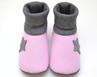 Felt - baby shoes