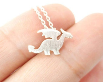 Dragon necklace friendship necklace / / silver / / 40% off