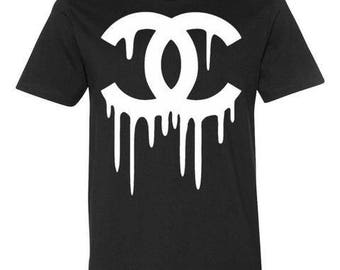Dripping Chanel Inspired T Shirt