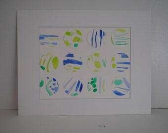 Circle Art Abstract