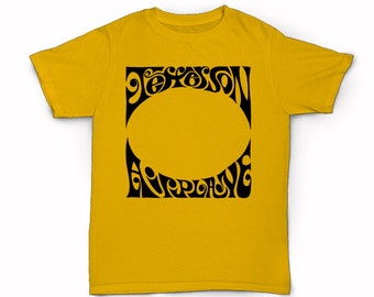 Jefferson Airplane T-shirt - San Francisco Band White Rabbit Somebody To Love