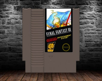 Final Fantasy III - Conclude the Final Fantasy NES Trilogy Now! - NES - English Translation