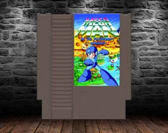 Mega Man in the Mushroom Kingdom - Experience the Original Romhack Mega Man game - NES