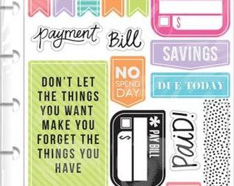 Happy Planner Stickers-Get paid