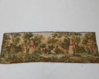 Vintage French Beautiful  Tapestry (216)