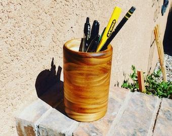 Wooden Pencil / Pen / Makeup Brush Holder