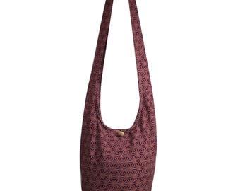 Hippie Bag Crossbody Bag Shoulder Sling Bag Messenger Bag Purse