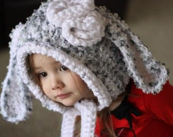 Little Girl Bunny Hood, Bunny Hood
