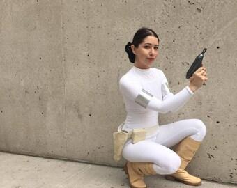 Star Wars Padme Amidala Geonosis Boots - Cosplay, Costume