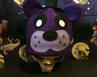 Shadow Freddy Bear Inspired Costume Hat Top Hat FNAF