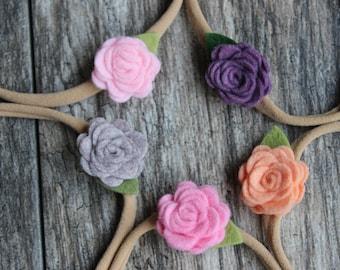 Ryleigh Flower Headbands
