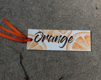 Watercolor - Orange