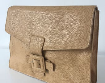 Sand color leather cover