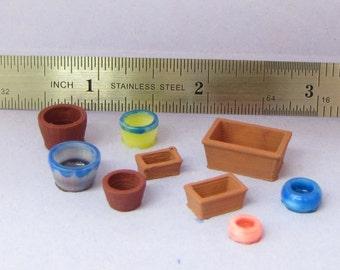 Quarter Scale Assortment of Plant Pots Kit