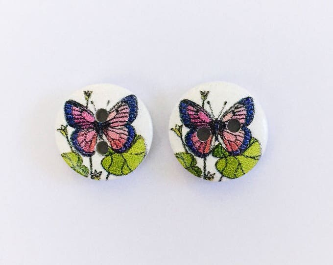 The 'Daphne'' Button Earring Studs