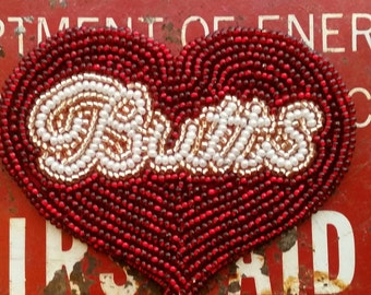 Sparkling Butts Heart Patch