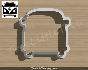 Volkswagen Cookie Cutter & Fondant Cutter, Canada Cookie cutter / Party Favor / Birthday / father's day/ Cake Top