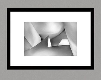 Guggenheim Bilbao Art Museum Print, photographic print, architecture photography,wall art,fine art print,black and white photo, abstract art
