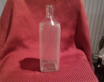 Vintage H & A Antique Gin Bottle