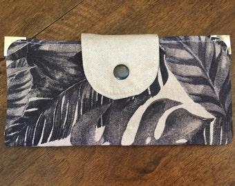 Wallet (travel companion) in cotton canvas - Ref. PF2