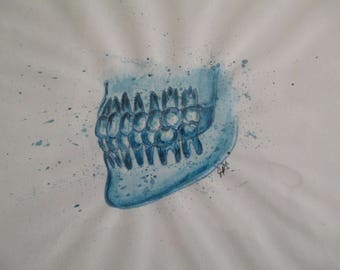 Dentition- Watercolor
