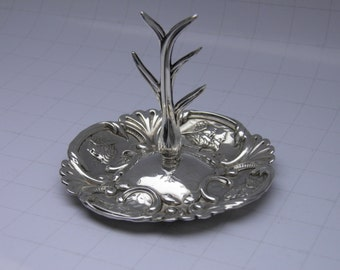 Solid Silver Ring Tree