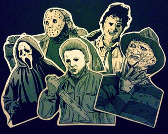 Cover stickers Slasher Pack