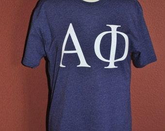 Alpha Phi Glitter Tshirt