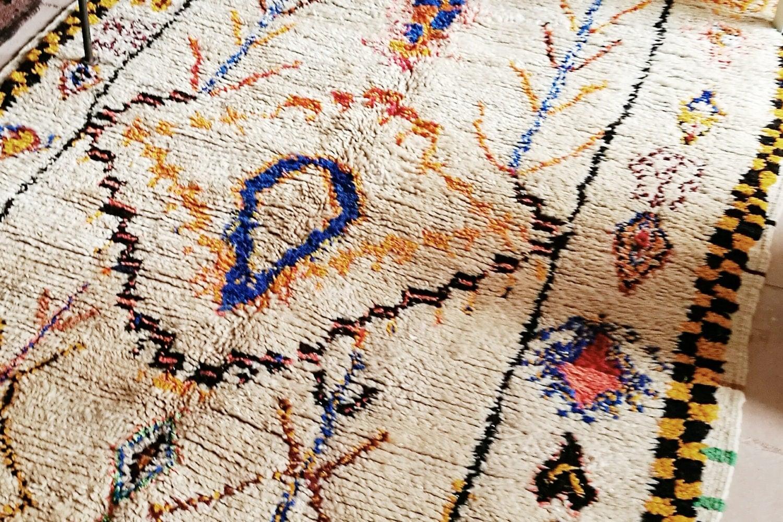 tapis berb re ancien azilal du haut atlas marocain. Black Bedroom Furniture Sets. Home Design Ideas