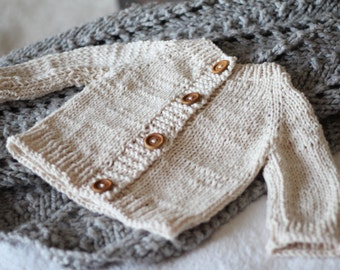 Cotton Sweater-Infant to 6 months