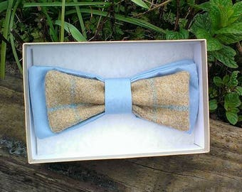Tweed adjustable bow tie, men's gift, bow tie, fathers day, races, weddings.