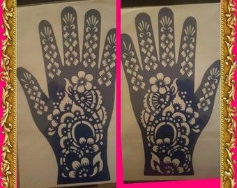 Henna Stencils Set