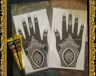 Henna Stencil Kit