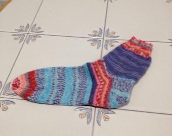Anatomy of Handknit Ladies Socks