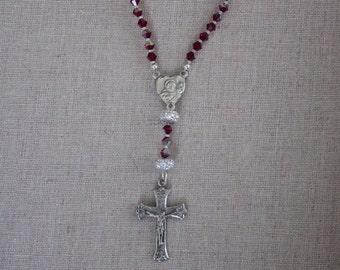 July Birthstone Rosary