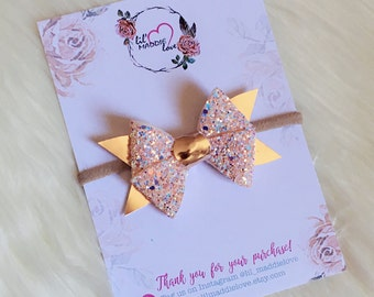 Butterfly Bow - Crystal Magic / Glitter Bow