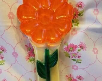 Retro Lucite Flower spoon rest