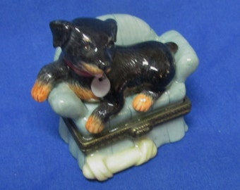 Midwest Rottweiler Midwest of Cannon Falls Trinket Box