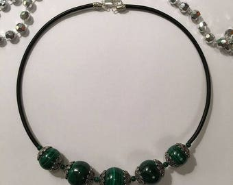 necklace malachite