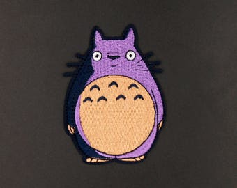 My Neighbor Totoro Patch Pattern Embroidered Animation  Apparel Movie Hat patches Embroidered Iron on sew on patches