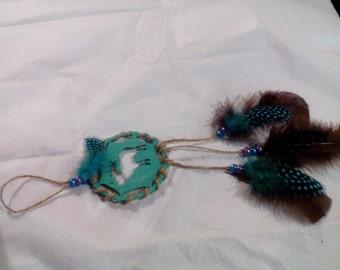 Elk Dreamcatcher Ornament