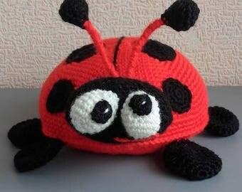 Lady Bug Crochet ladybug Amigurumi Soft toy Plush doll