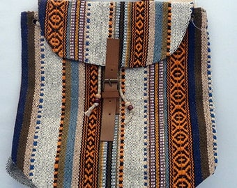 The Deccan Backpack Boho Hippie Gypsy Hippie Bohemian