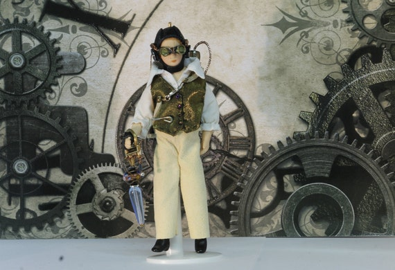 Steampunk Explorer 'Henry' Dollshouse Scale 1/12th