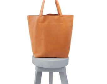 leather tote bags -  leather tote -  leather totes -  brown leather tote - large leather tote - leather zip tote - tan leather tote bag