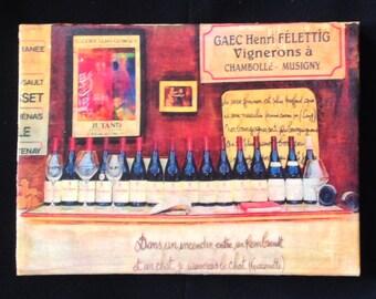 Wine at Paris Market
