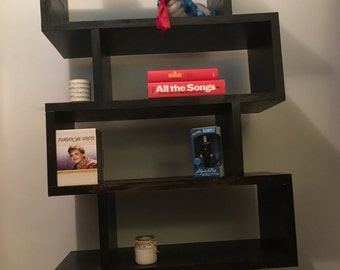Timber Bookshelf/Room Divider