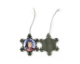 Once Upon a Time Evil Queen Lana Parrilla Christmas Ornament
